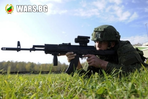 """Русия с нов автомат от системата """"Калашников"""""""