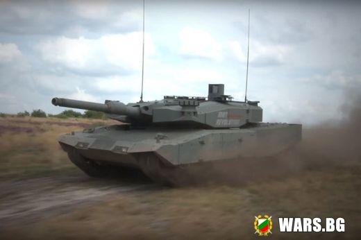 Германците показаха своя танк на бъдещето MBT Revolution