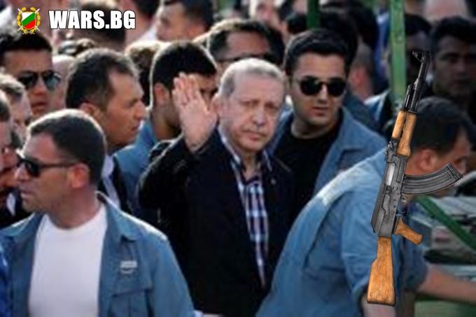 Ердоган Който сее оръжие, ще жъне мигранти
