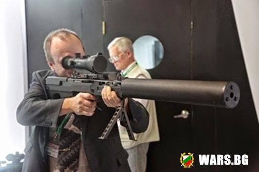 Безшумен руски снайпер пробива 16 мм стомана