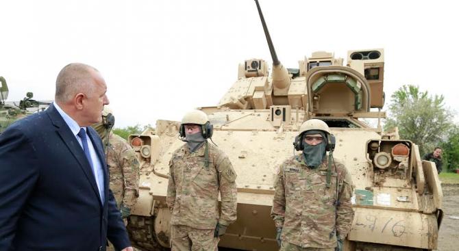 Борисов Американска окупация