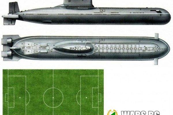 """Проект 941 """"Акула"""". Тежка ракетна подводница със стратегическо назначение."""