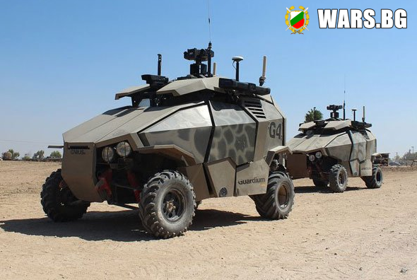 Безпилотни автомобили срещу терористите + видео