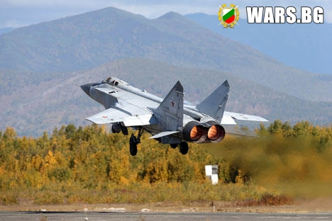 Русия разработва нов самолет-прехващач