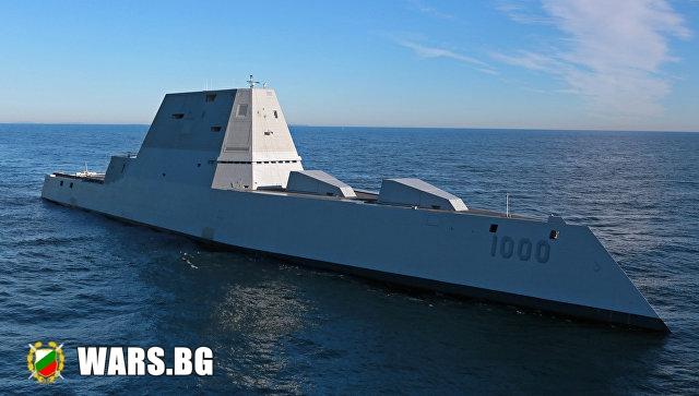 USS Zumwalt пак се строши