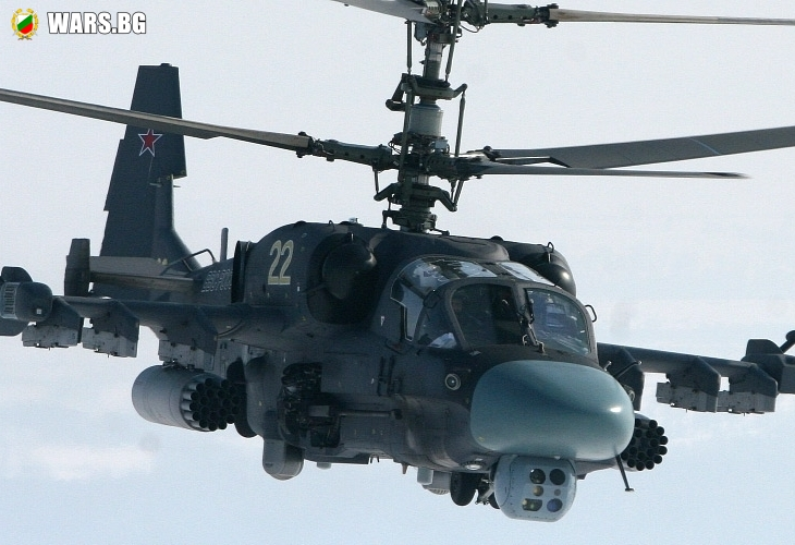 Руски бойни вертолети влязоха в световна топ-листа