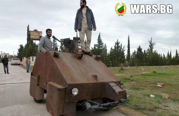 """""""Шам II"""" скоро ще тръгне на бой с войските на Асад"""