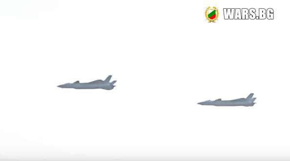 Китай показа суперизтребителят J-20 +ВИДЕО