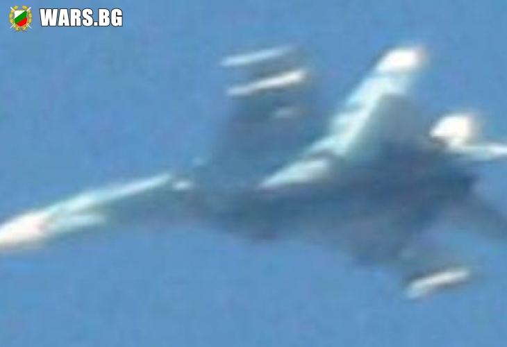 Руски Су-27 води яки боеве с американски F-16 в Невада