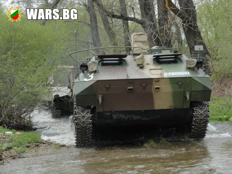 Бойци от 61 Стрямска бригада се представиха блестящо в съюзническо учение