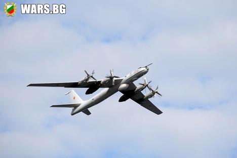 Над Сирия за първи път е забелязан самолет Ту-142
