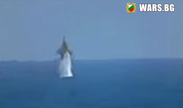 Руски прехващач, който излита от подводница +ВИДЕО