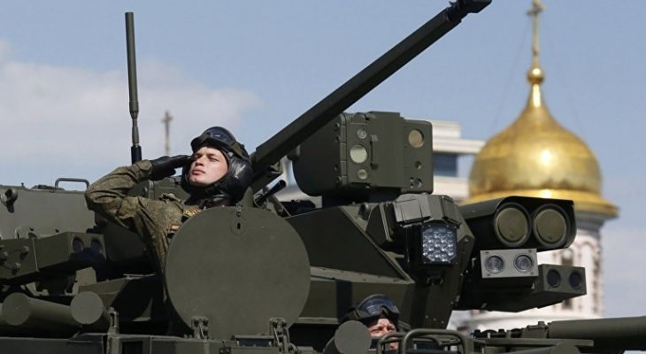 Русия на Путин демонстрира сила с модерна армия