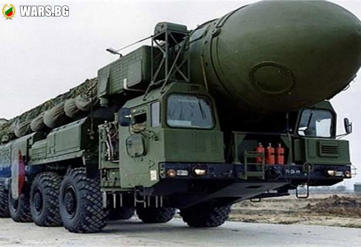 Китай разположи балистични ракети близо до границата с Русия