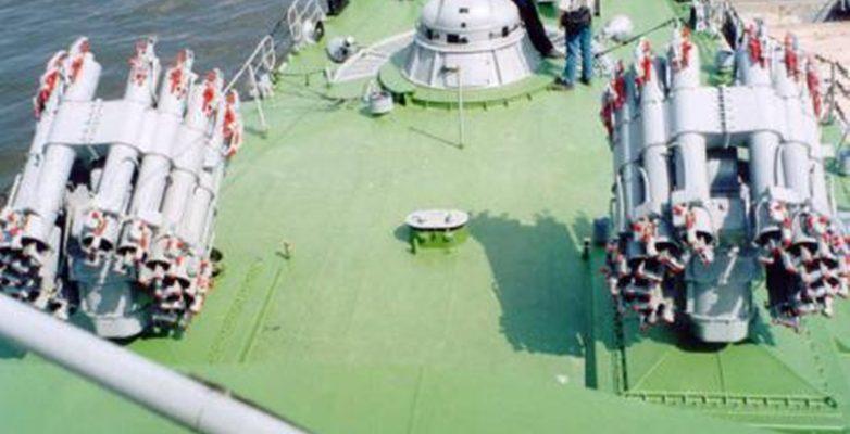 Ново въоръжение в руският флот !