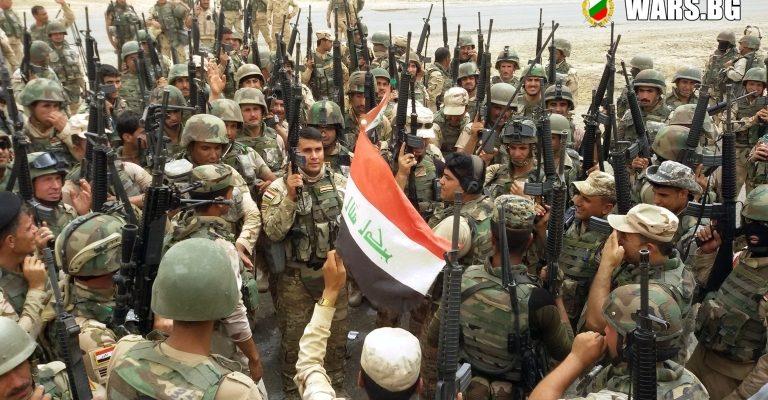 Иракската армия стигна до река Тигър в Мосул
