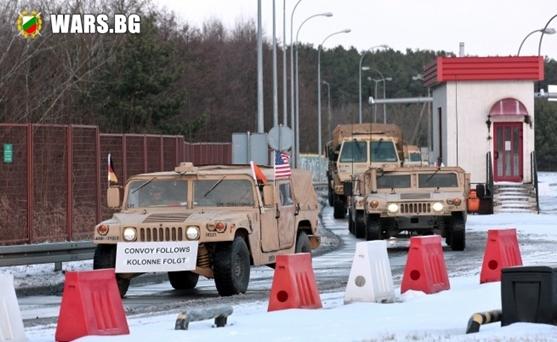 Американската армия влезе в Източна Европа
