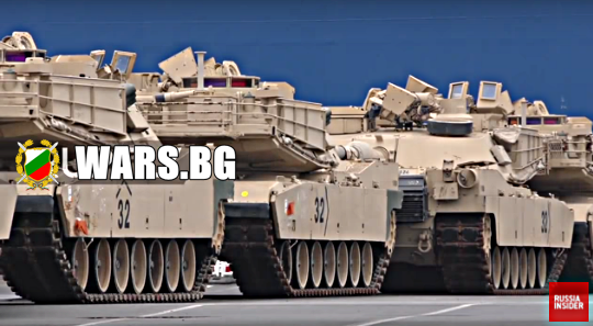 Американските танкове пристигнаха в Полша +ВИДЕО