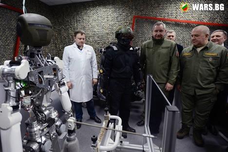 Руският робот FEDOR ще си партнира с космонавти