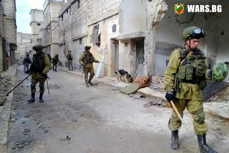 Руските военни инженери са обезвредили над 20 хил. боеприпаси в Алепо