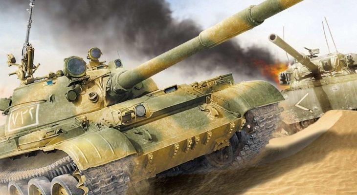 Модернизиран танк Т-62 спаси екипажа си от ракетна атака в Сирия (ЗРЕЛИЩНО ВИДЕО)