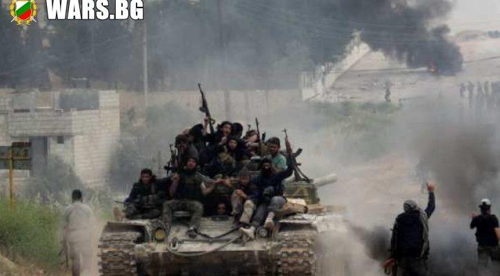 Извънредно! Въстание в Сирия: Яростни граждани атакуват с павета и оръжия терористи, които панически бягат