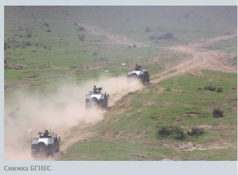 Американски танкове в България
