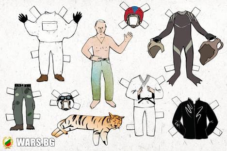 Защо президентът на Русия използва образа на мачо?