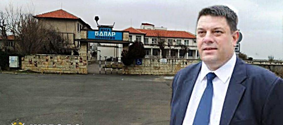 Атанас Зафиров: Държавата бездейства за военния санаториум в Поморие Stefan ProjnowvСтефан Пройнов