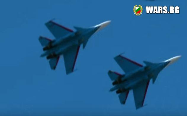 Руските рицари показаха за първи път възможностите на новия Су-30СМ+ВИДЕО Стефан Пройнов