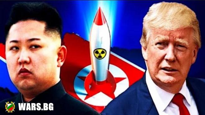 """Северна Корея заплаши да превърне САЩ в """"море от огън"""""""
