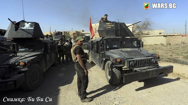 Гореща точка! Иракската армия влезе в сблъсъци с кюрдски бойци край Киркук