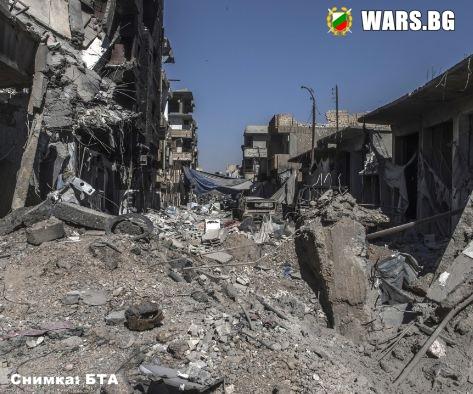 Гореща точка ! Русия вини Запада, че е заличил Ракка от лицето на Земята