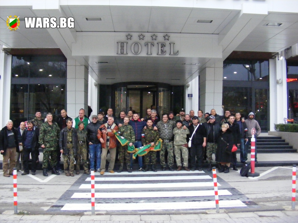 Военно-политическо движение се учреди у нас +ВИДЕО