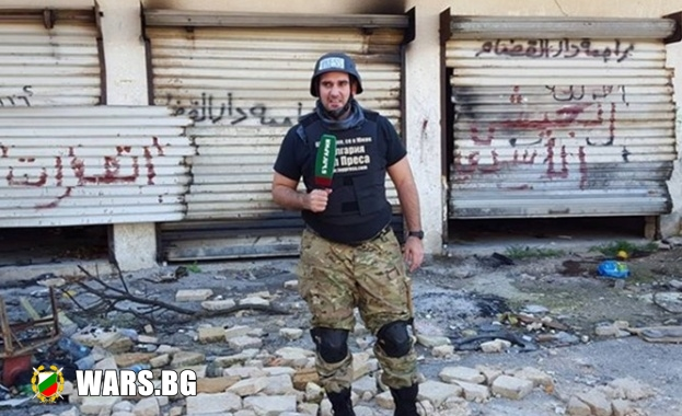 Военният журналист Борис Анзов бе смъртно ранен