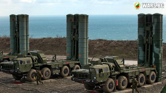 """Още една дивизия С-400 """"Триумф"""" ще охранява руската граница в Крим"""