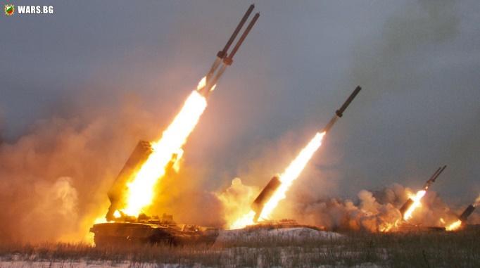 """Руската армия е получила рекорден брой ракети за ТОС-1А """"Солнцепек"""""""