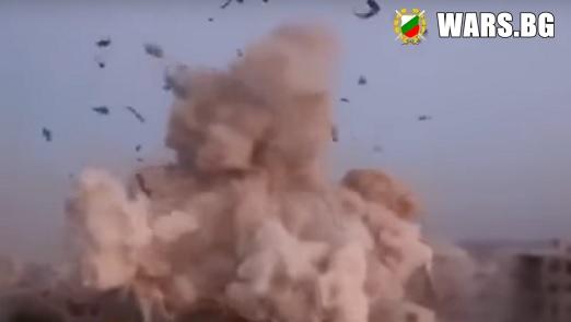 Гореща точка! Масиран ракетен удар бе нанесен в Сирия