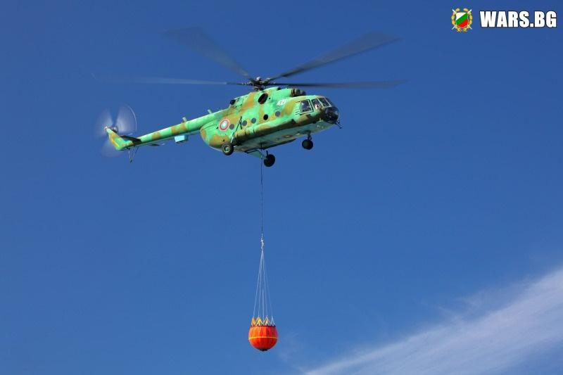 Инцидент с вертолет МИ-17 в района на летище Крумово