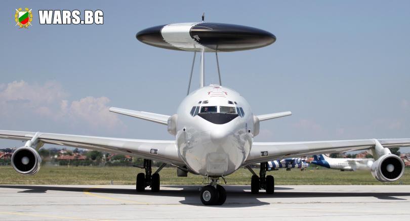 Самолет АУАКС на НАТО кацна на летище София