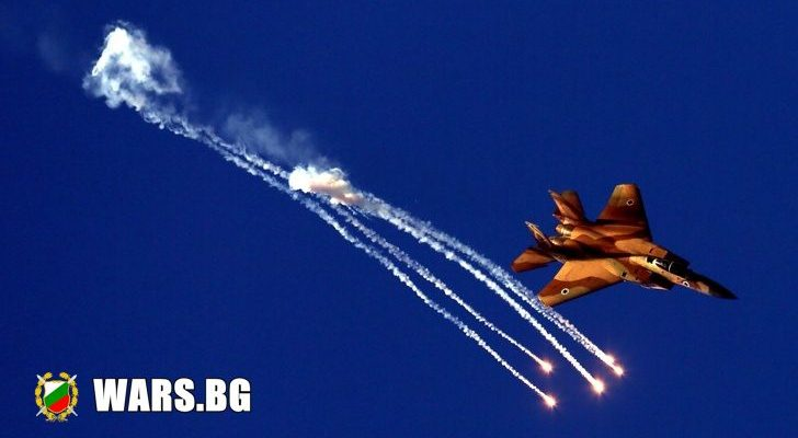 Две израелски ракети удариха оръжеен склад в Дамаск