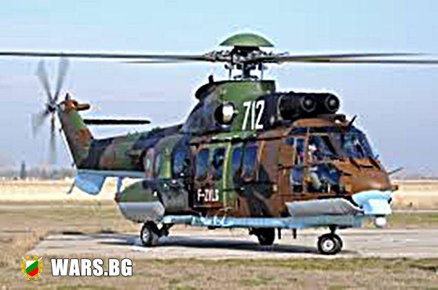 """Два вертолета """"Cougar"""" ще бъдат дооборудвани със средства за гасене на горски пожари"""