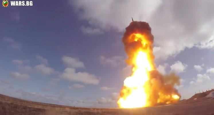 ВИДЕО: Изстрелване на нова руска противовъздушна ракета