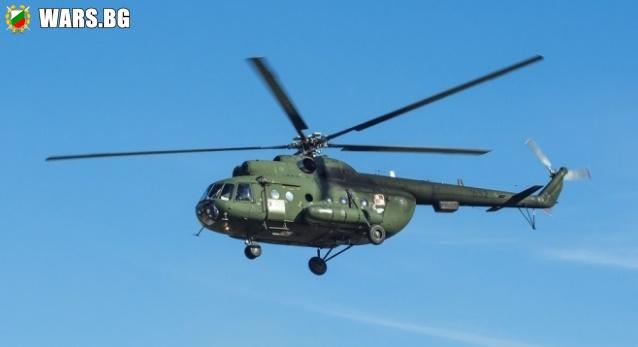Инцидент с военен хеликоптер стана край Стамболийски