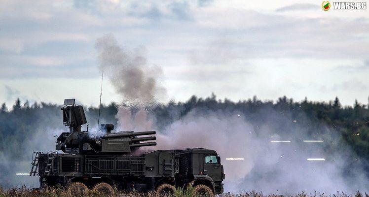 """Колко комплекса """"Панцирь-С1"""" Русия е доставила в Сирия?"""