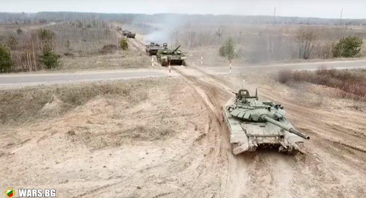 ВИДЕО: Маневри на руските войски - като на филм