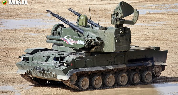 """Зенитният оръдейно-ракетен комплекс """"Тунгуска"""" всява страх сред американските вертолети"""