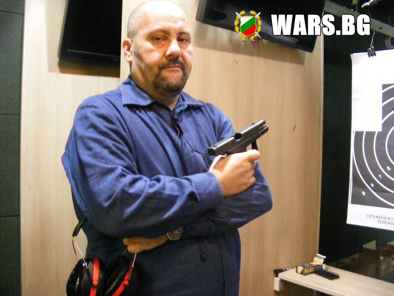 Стефан Пройнов: Глок 19 е един от най-добрите пистолети на света