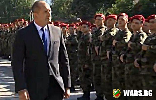 Румен Радев: На мен професията ми е да браня България