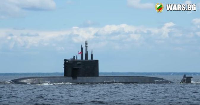 "Русия пусна на вода новата ядрена подводница ""Кронщад"""